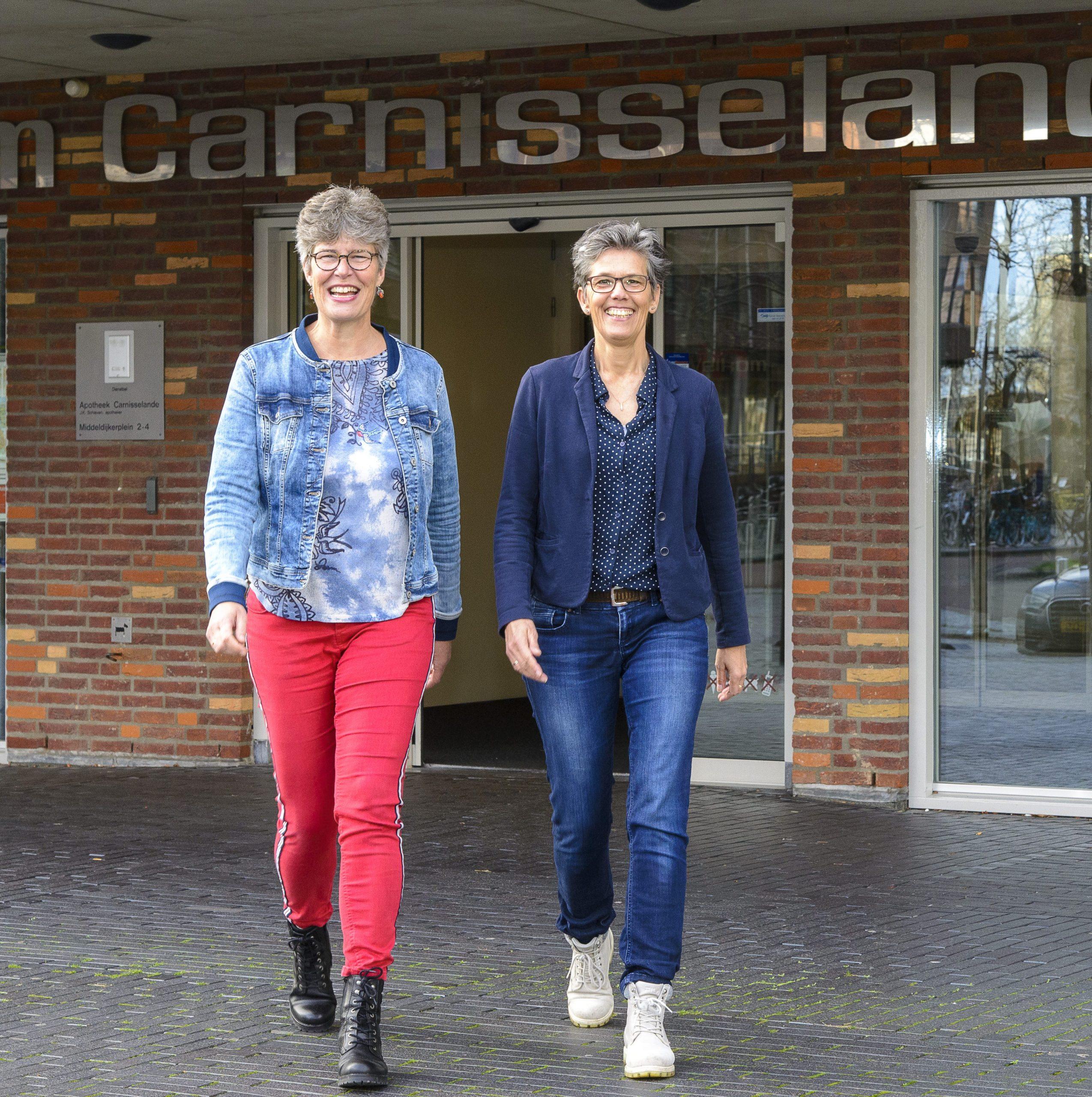 Jacobine Vreeken en Anita Kooistra